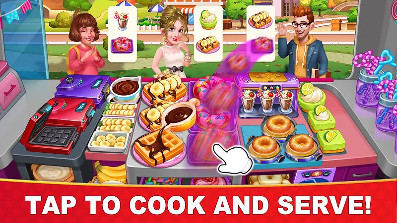 Cooking Hot MOD APK IOS