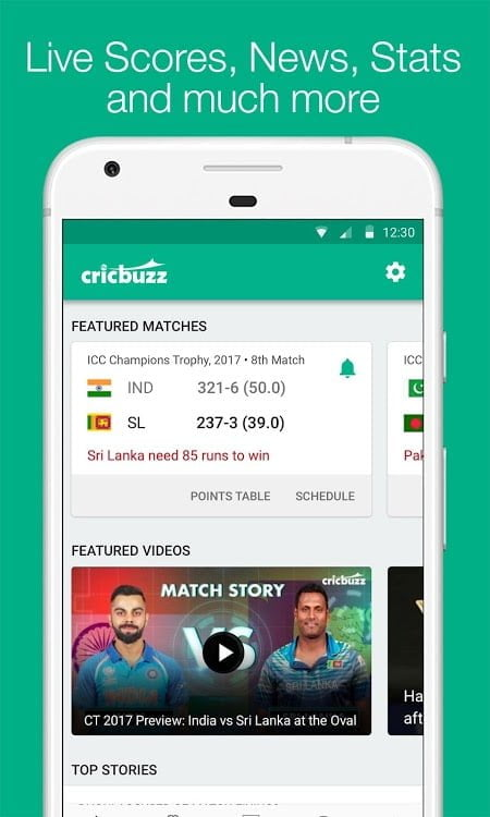 Cricbuzz – Live Cricket Scores News MOD ADFree