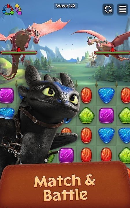 Dragons Titan Uprising MOD GOD MODEONE HIT