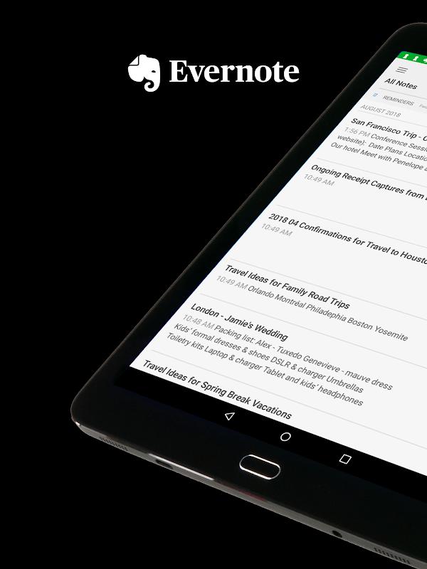 Evernote MOD Premium Mo khoa