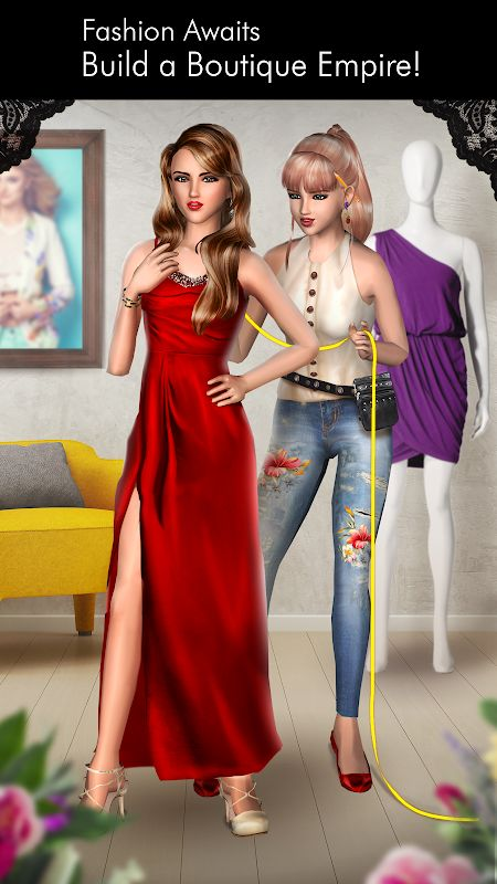 Fashion Empire – Boutique Sim MOD Tien xuGemsKeys