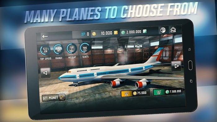Flight Sim 2018 MOD APK IOS