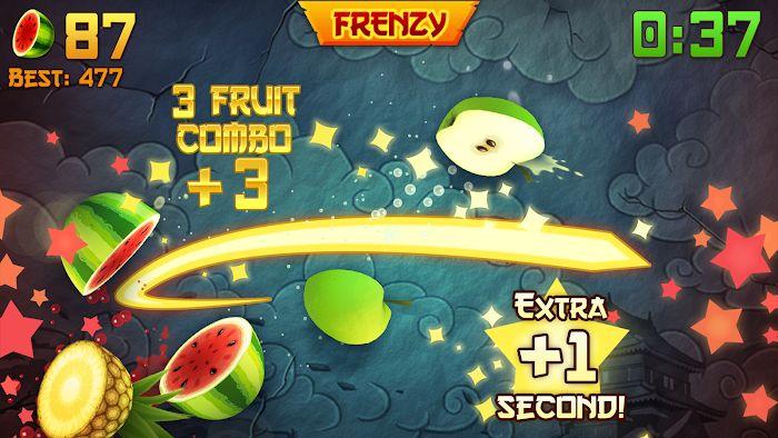 Fruit Ninja MOD APK IOSScore