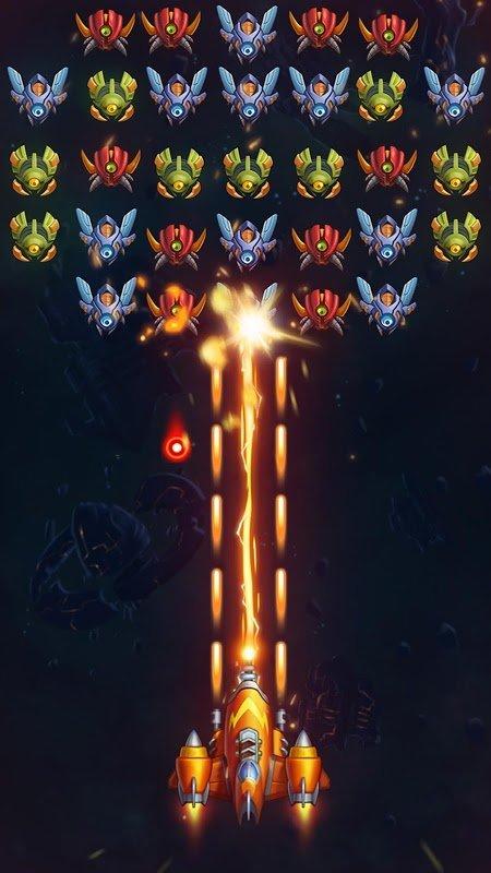 Galaxy Invaders Alien Shooter MOD Vo han Tien xuGems