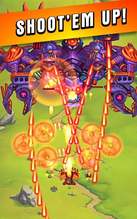 HAWK – Force of an Arcade MOD High DamageHP