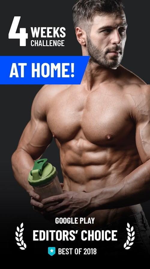 Home Workout – No Equipment MOD Premium