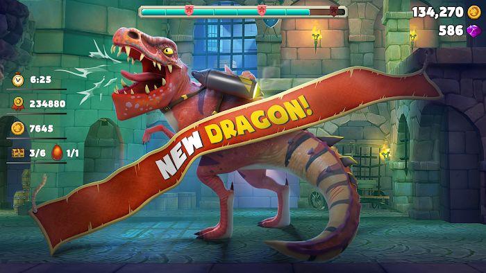 Hungry Dragon MOD APK IOS
