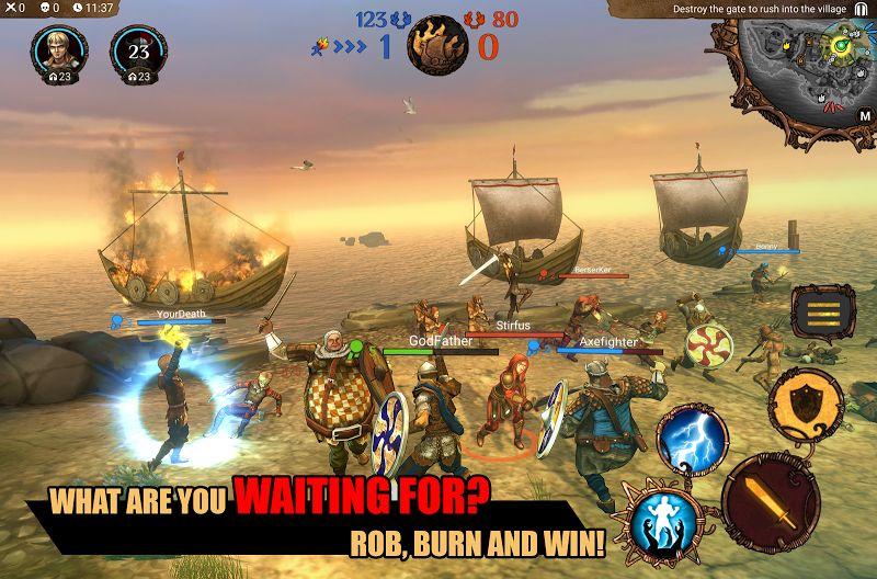 I Viking MOD Free Skill