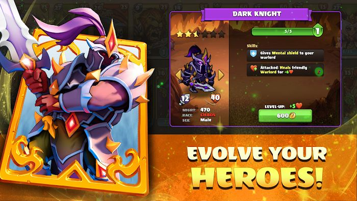 Mighty Party Legends of Battle Heroes MOD One HitGod Mode