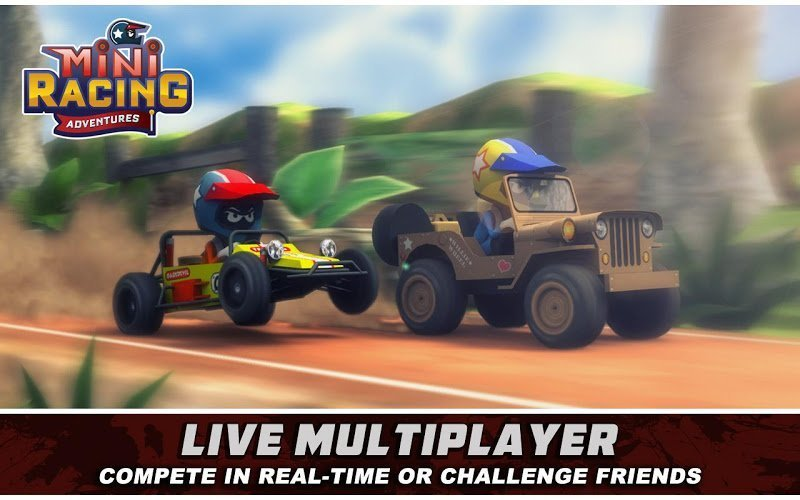 Mini Racing Adventures MOD APK IOS