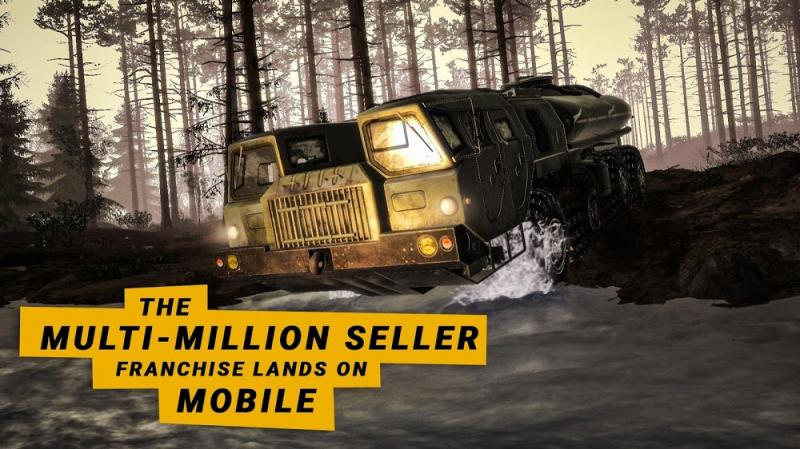 MudRunner Mobile MOD Mo khoa DLC