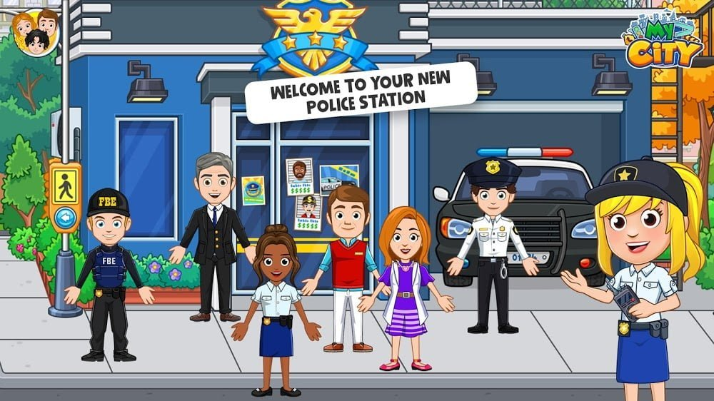 My City Cops and Robbers
