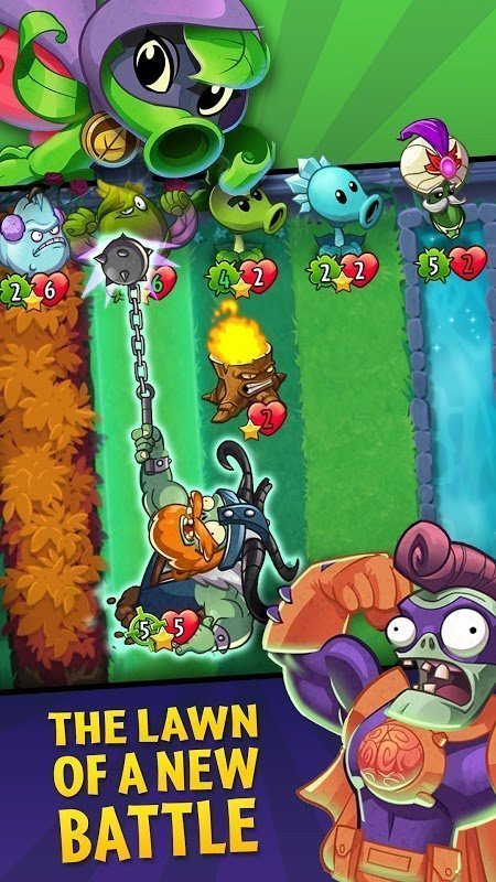 Plants vs Zombies Heroes MOD HeartSun