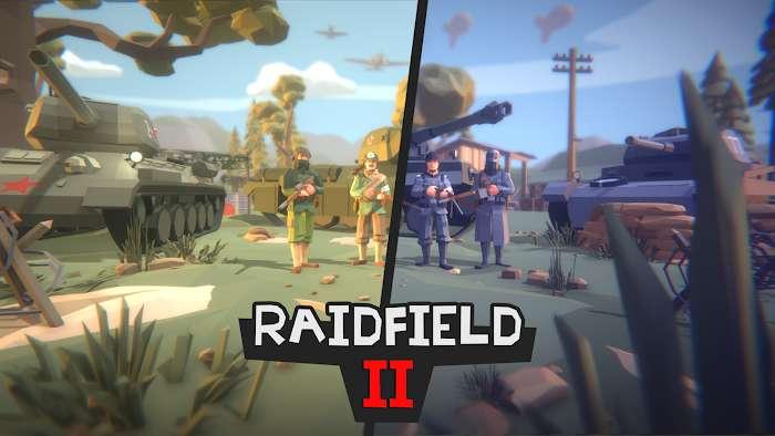 Raidfield 2 MOD Vo han Dan