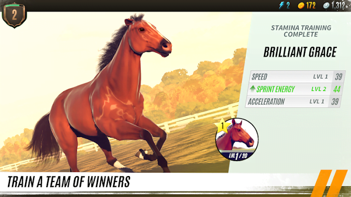 Rival Stars Horse Racing MOD Weak Opponents