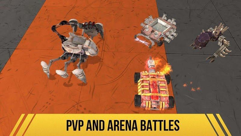 Robot Fighting 2 MOD Mo khoaTien