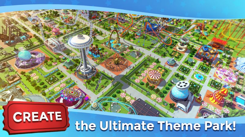RollerCoaster Tycoon Touch MOD Vo han Currency