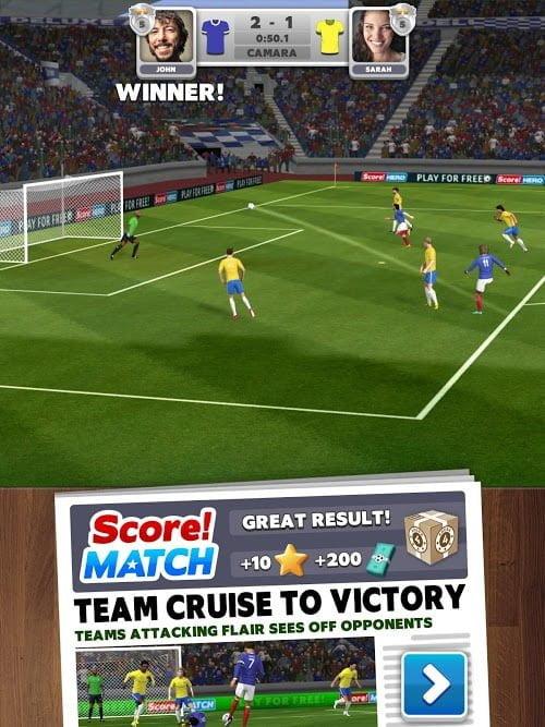 Score Match – PvP Soccer