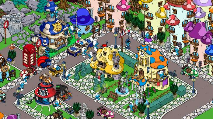 Smurfs Village MOD Vo han GoldSmurfberries