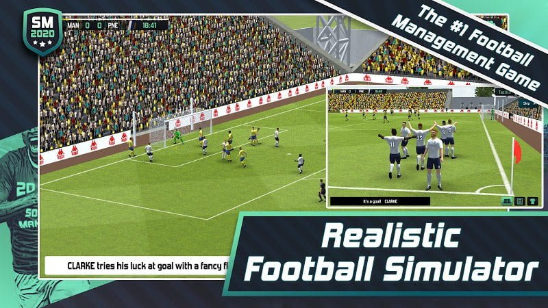Soccer Manager 2020 MOD Free Shoping