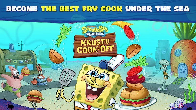 SpongeBob Krusty Cook Off MOD APK IOSTien xu