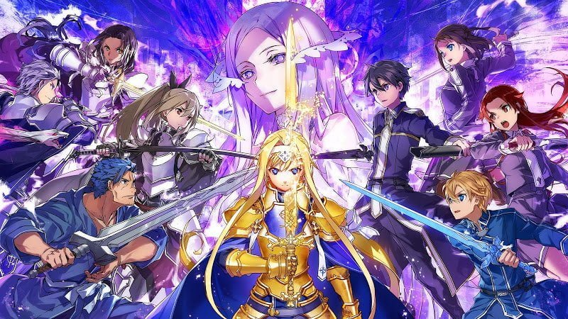 Sword Art Online Alicization Rising Steel MOD God Mode