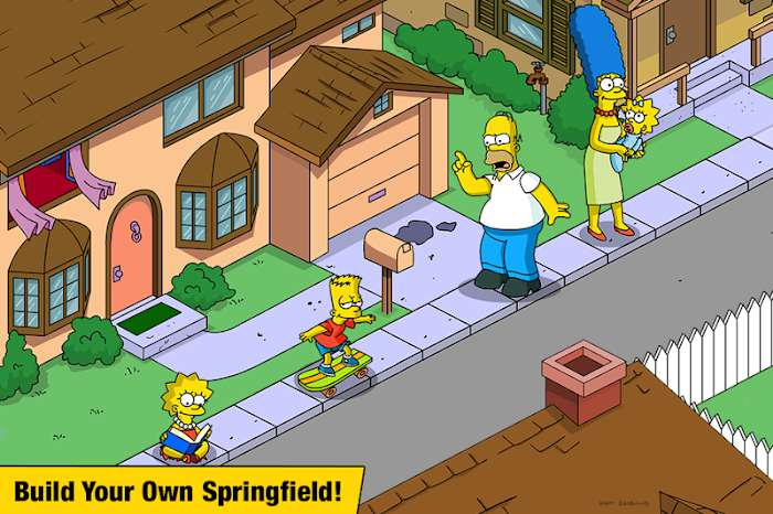 The Simpsons Tapped Out MOD Free Mua sam