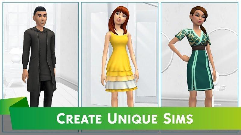 The Sims Mobile MOD Apk IosSimoleons