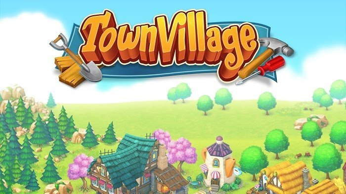 Town Village Farm Build Trade Harvest City MOD Tien xuGems