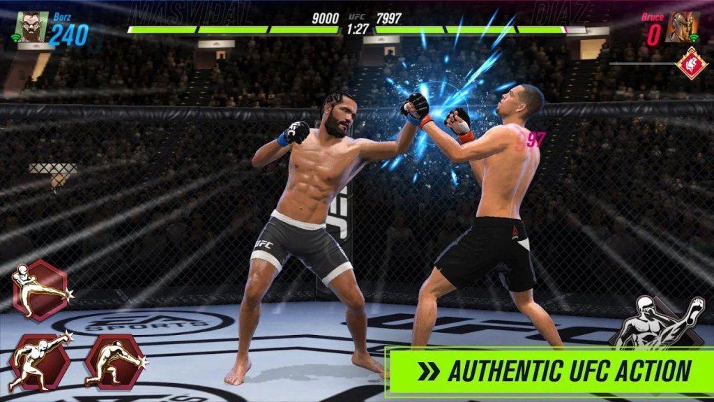 Hướng dẫn dành cho người mới bắt đầu của UFC Mobile