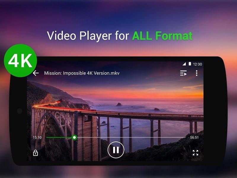 Video Player All Format – XPlayer MOD Mo khoa