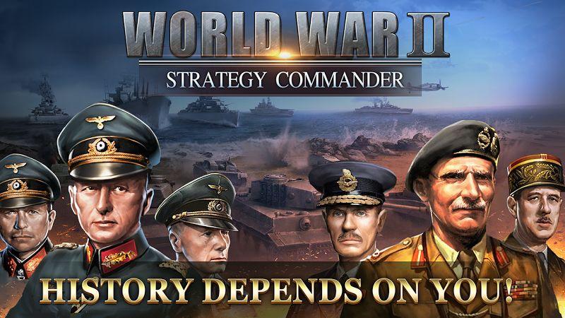 WW2 Strategy Commander Conquer Frontline MOD APK IOSMedals