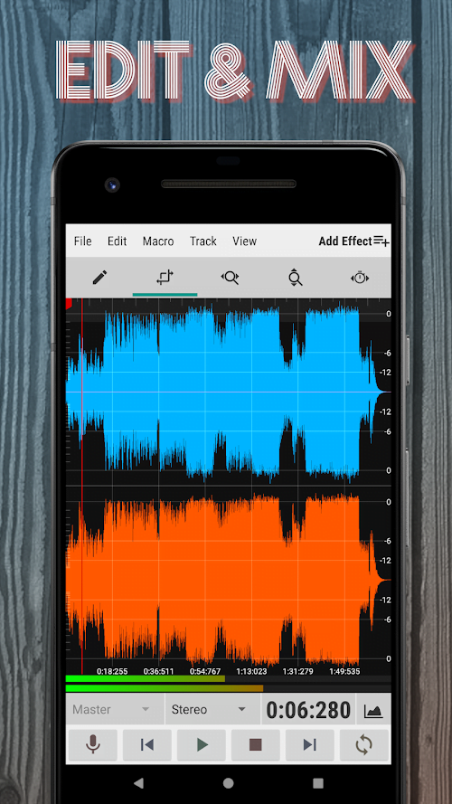 WaveEditor for Android MOD PRO Mo khoa