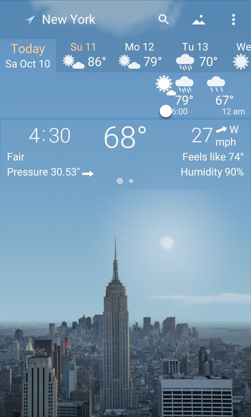 YoWindow Weather – Vo han