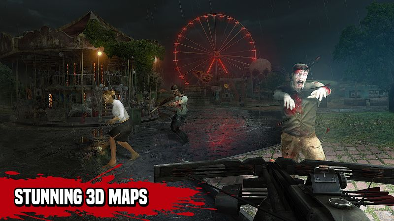 Zombie Hunter Sniper: Apocalypse (MOD, Tiền không giới hạn)