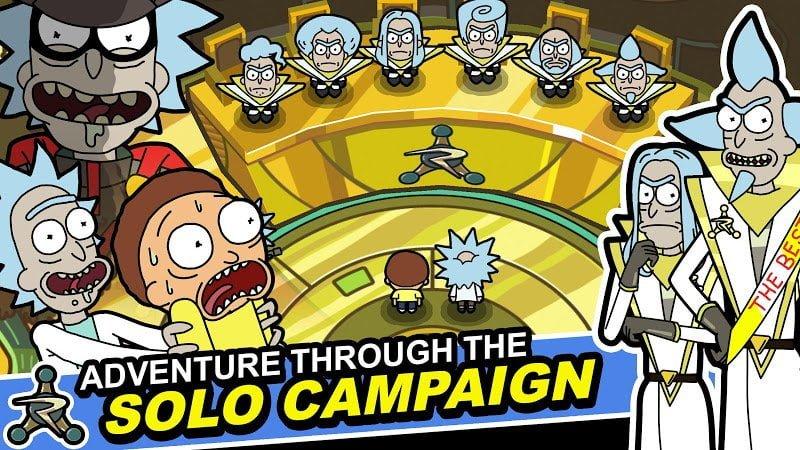 Rick and Morty: Pocket Mortys (MOD, Vé không giới hạn)