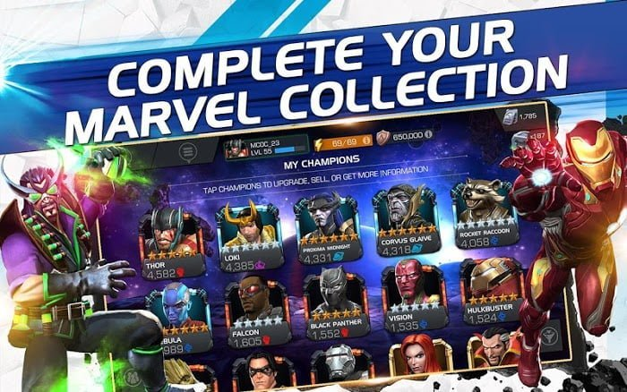 MARVEL Contest of Champions (MOD, Dumb Enemy)
