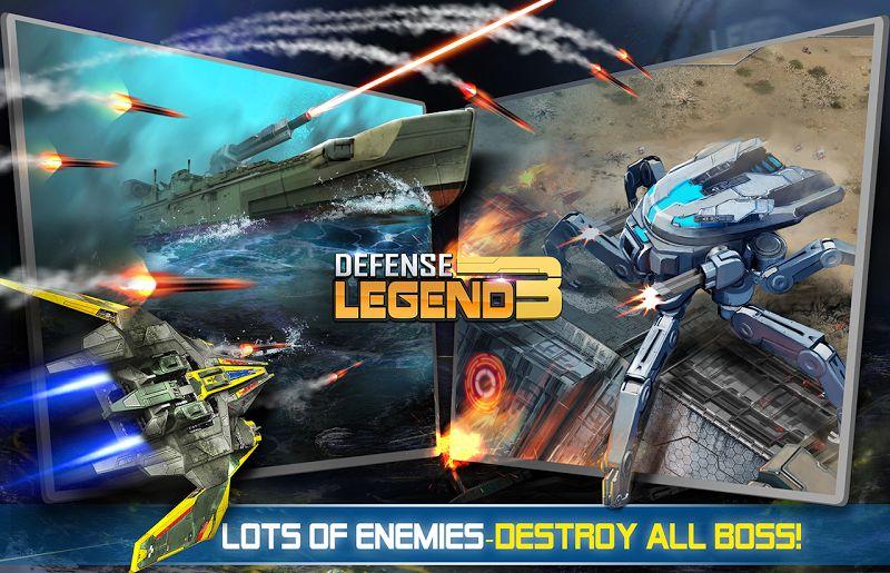 Defense Legend 3: Future War (MOD, Tiền không giới hạn)