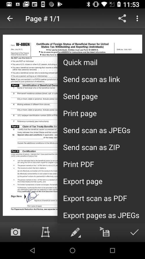 Máy quét tài liệu di động (MDScan) + OCR