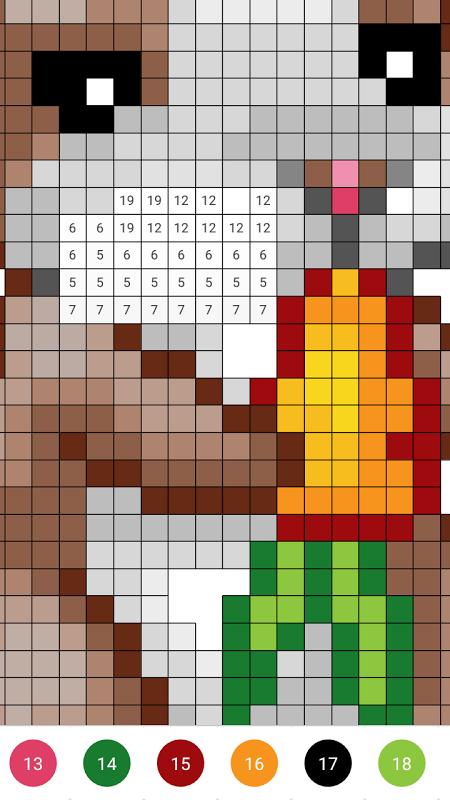 Sandbox Pixel Coloring (MOD, Premium)