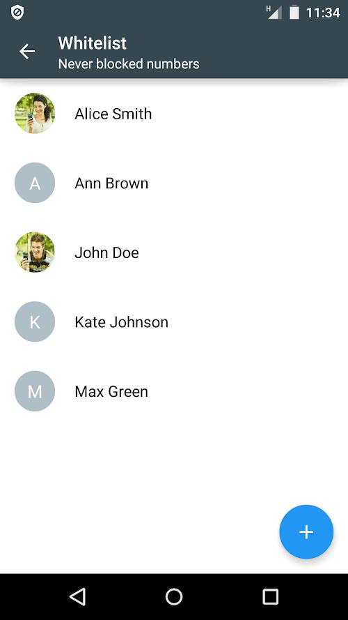 Danh sách đen cuộc gọi PRO - Chặn cuộc gọi