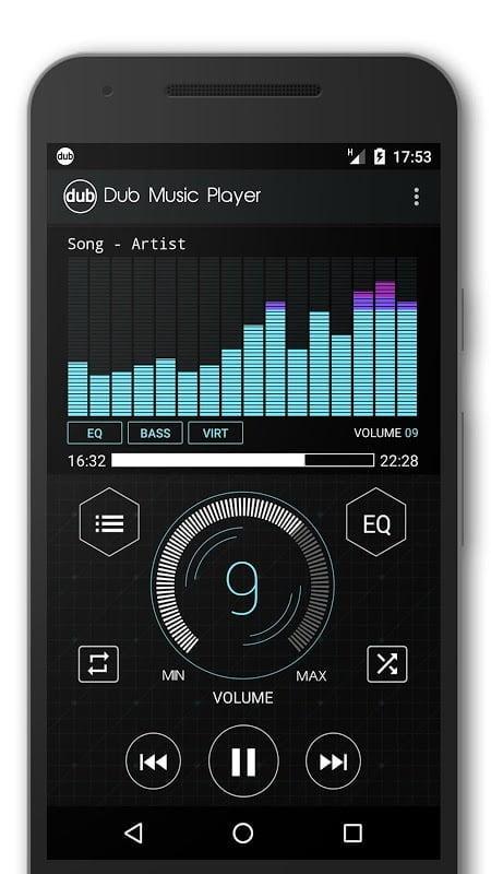 Trình phát nhạc Dub (MOD, Premium)