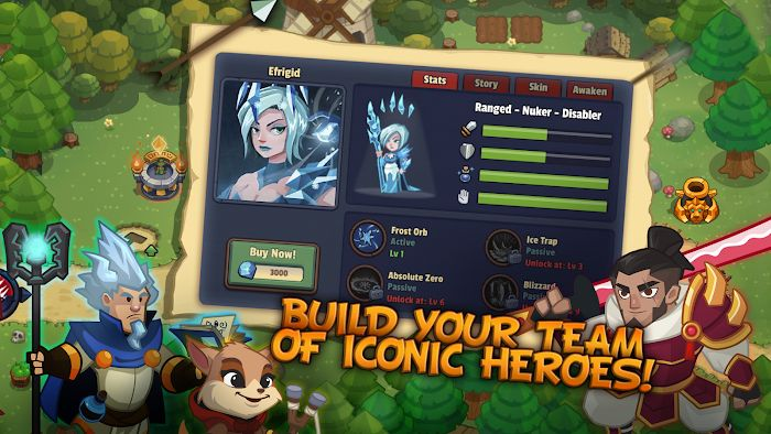 Realm Defense: Hero Legends (MOD, Tiền không giới hạn / Đã mở khóa)
