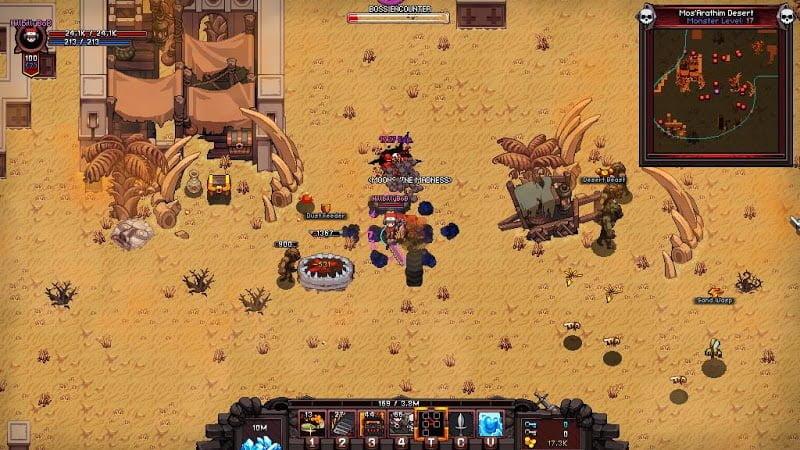 Hero Siege: Pocket Edition (MOD, Kim cương không giới hạn)