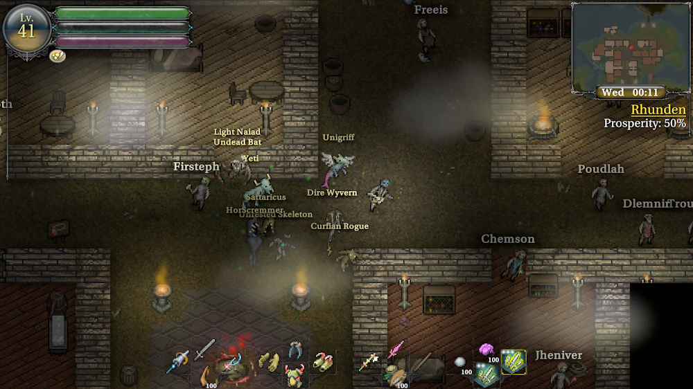 RPG thứ 9 Dawn III