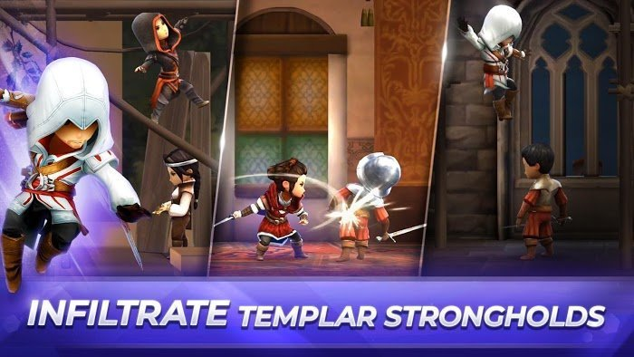 Assassins Creed Rebellion MOD Mo khoaOne HitNo Skill CD