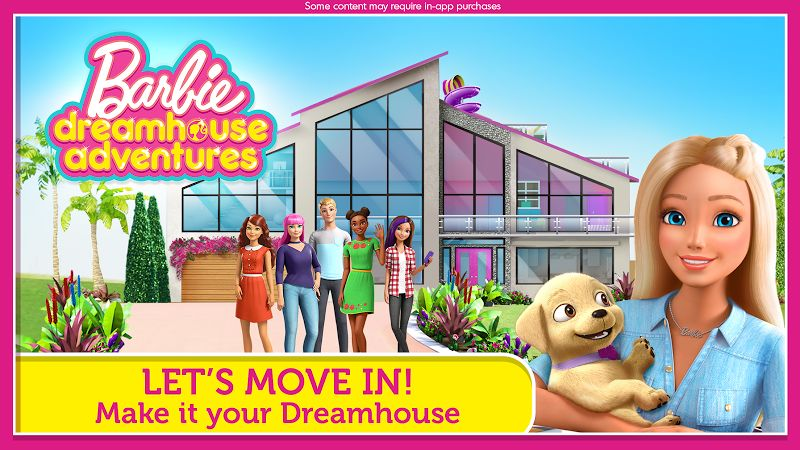 Barbie Dreamhouse Adventures MOD Mo khoa All