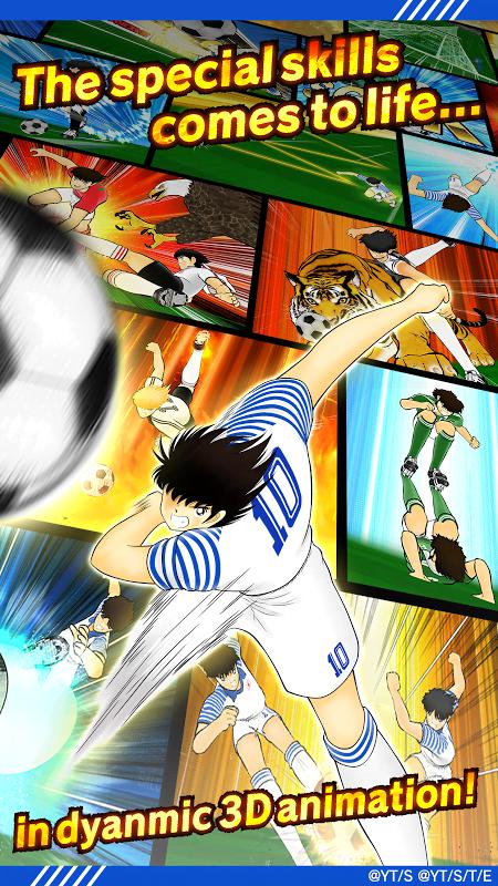 Captain Tsubasa: Dream Team (MOD, Unlimited Stamina)