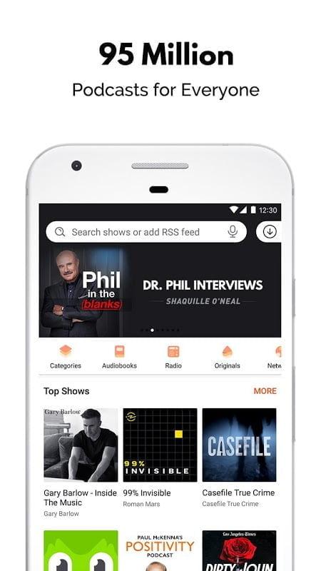 Castbox – Podcast Player Podcast App MOD Premium