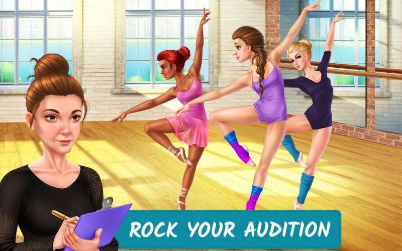 Dance School Stories MOD Vo han Tickets Mo khoa Items